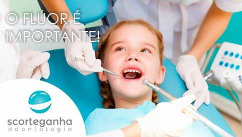 O flúor e os dentes das crianças
